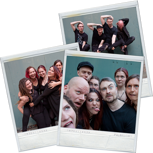 Meet'n'Greet nach einer Show der Stimmgewalt Acoustic Tour 2017