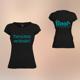 T-Shirt Damen Schwarz - Tierschutz verbindet!