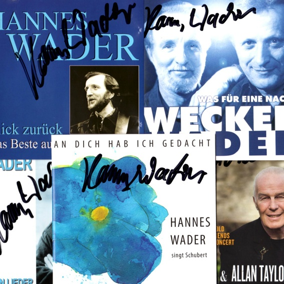 Hannes Wader - CD Paket 2 (handsigniert)