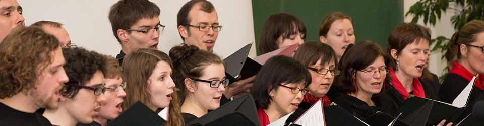 Konzertreise des UNICHORs der HHU Düsseldorf nach Kanada 2014
