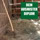 Mache das Ausmister-Diplom