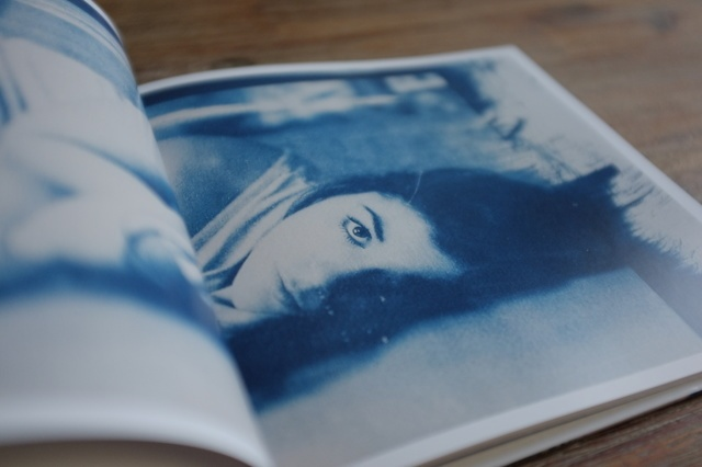 Cyanotype Hardcover Book - 20x20 cm