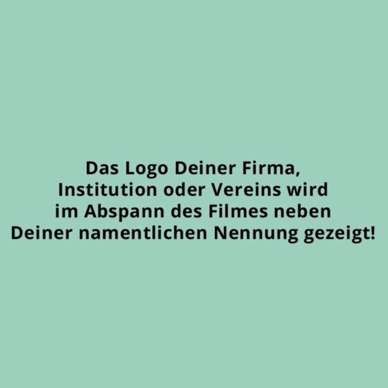 Business Paket + Logo im Abspann