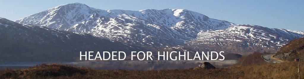 Headed for Highlands: Von Köln in den Norden Schottlands. Zu Fuß.