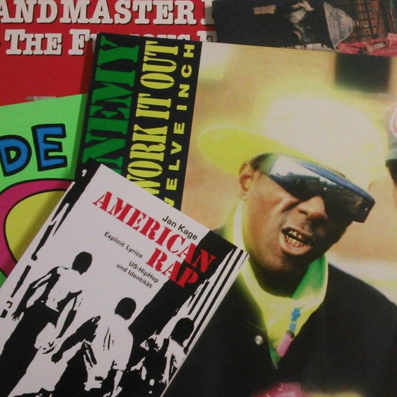 American Rap Buch + Vinyl Paket
