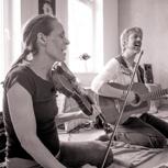 Wohnzimmer-/Gartenkonzert mit Yopi und Lotta