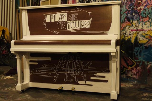 Play Me, I'm Yours - Klaviere auf Münchens Straßen
