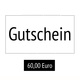 Early Bird: 60,00€ Gutschein Onlineshop