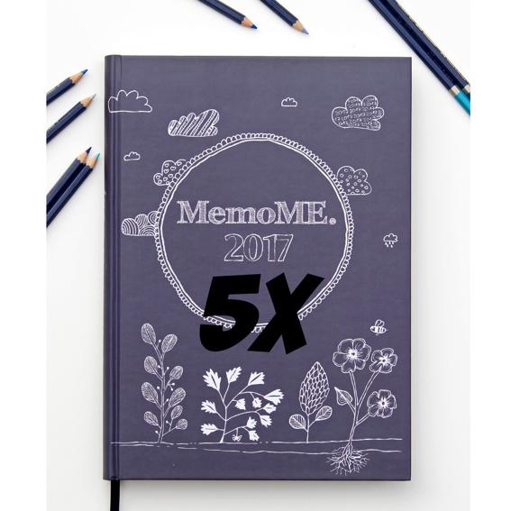 5x MemoME. Planer A4 classic