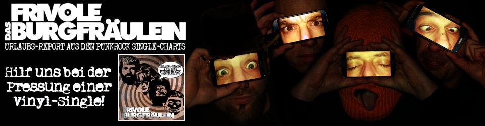 """Urlaubs-Report aus den Punkrock Single-Charts"" Vinyl Pressung"