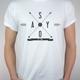 """Shirt """"Since2009"""" (weiß)"""