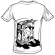 """Pelztar Art Work"" limited fair trade Shirt Boys I"