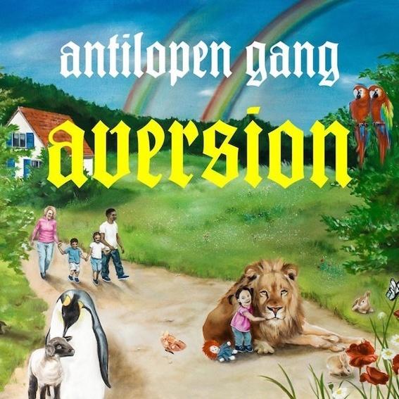 CD (signiert) - Antilopengang: Aversion