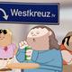 Postkarte vom Westkreuz
