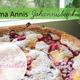 Schöne Rezeptkarte von Oma Annis Johannisbeerkuchen
