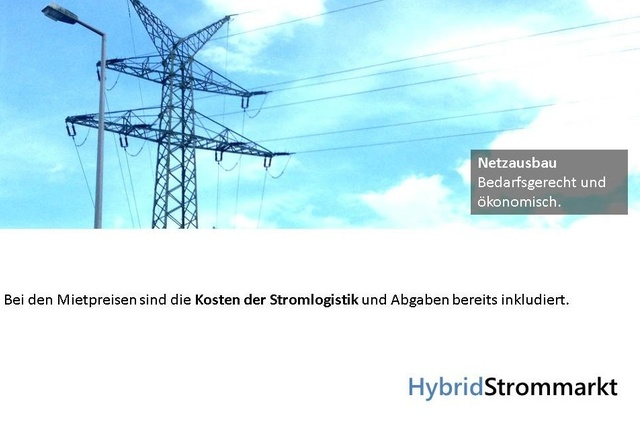 Hybridstrommarkt - Energiewende in Bürgerhand