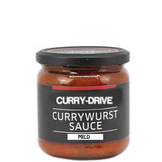 500ml Hausgemachte Currywurstsoße Curry-Drive Mild