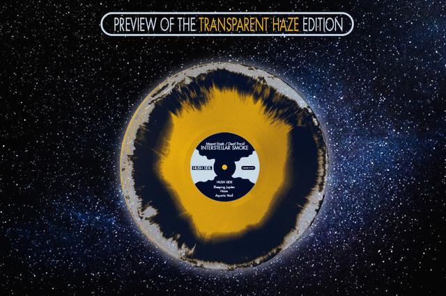 Mount Hush / Deaf Proof - Interstellar Smoke Vinyl