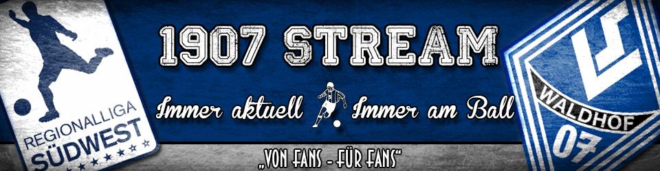 Der 1907 Stream - Die Spiele des SV Waldhof Mannheim LIVE erleben