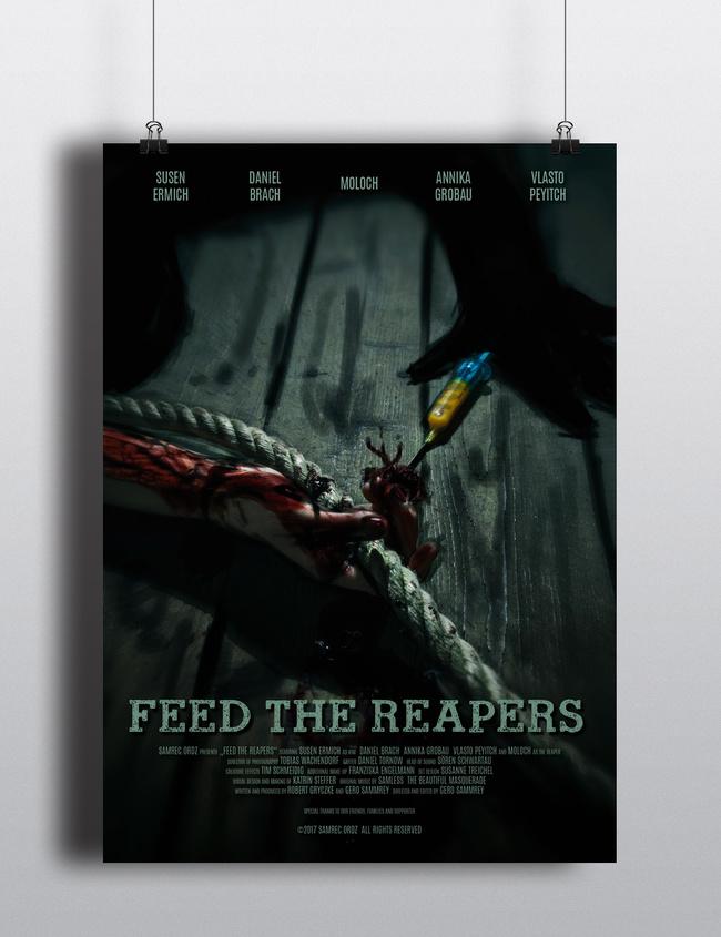 Spritzen, Strick und Minimalismus: Das offizielle FTR-Plakat is da ...