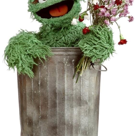 """Autogramm von """"Oscar aus der Mülltonne"""""""