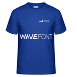 """1 x T-Shirt """"Silicon Surfer - navy"""""""