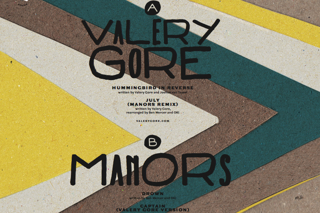 Immergut auf Reisen - Split - Vinyl mit Valery Gore (CA) & Manors (UK)