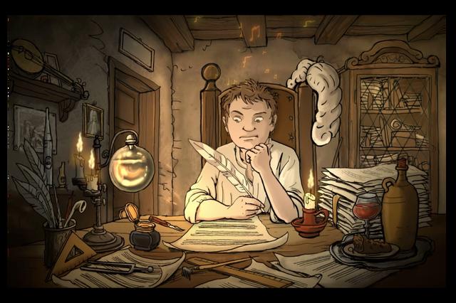 Animationsfilm Johann Sebastian Bach und die Thomaner