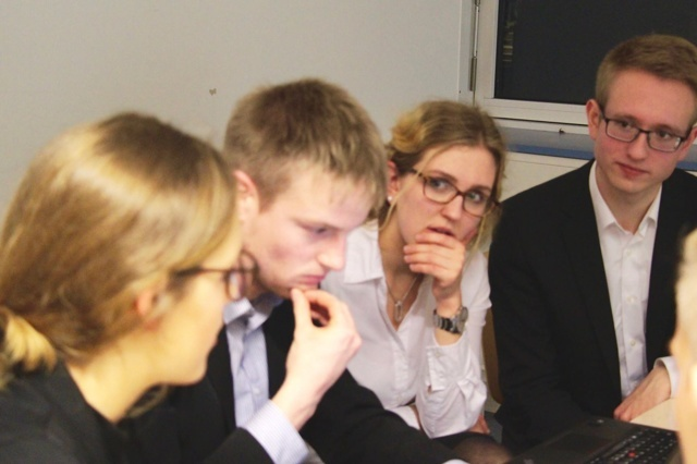 NMUN-Delegation 2017 aus Münster