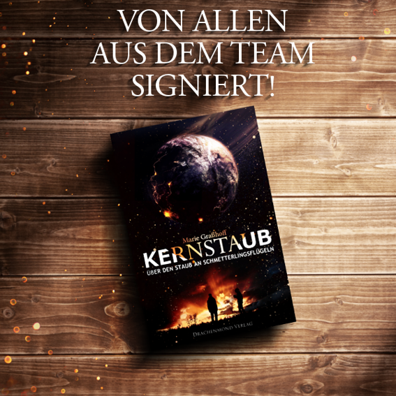 'Kernstaub' Paperback signed by entire Team