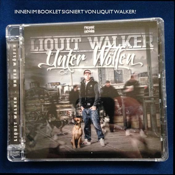 Signierte CD von LIQUIT WALKER