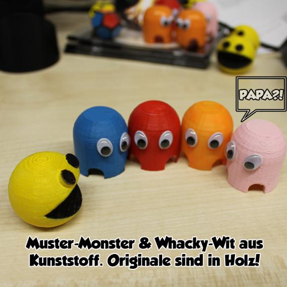 #4: Whacky Wit und seine Monster-Freunde + Postkarte
