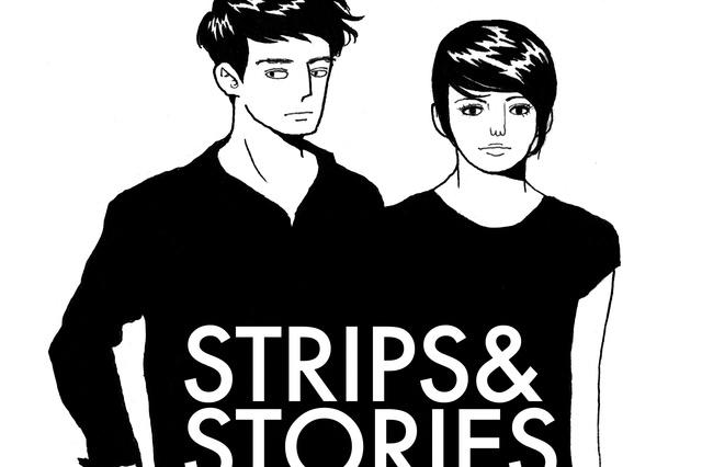 Helft, Strips & Stories zu erhalten