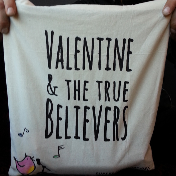 Believer Burlap Bag