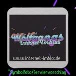 Der Internet-Imbiss Bierdeckel (20 Stück)