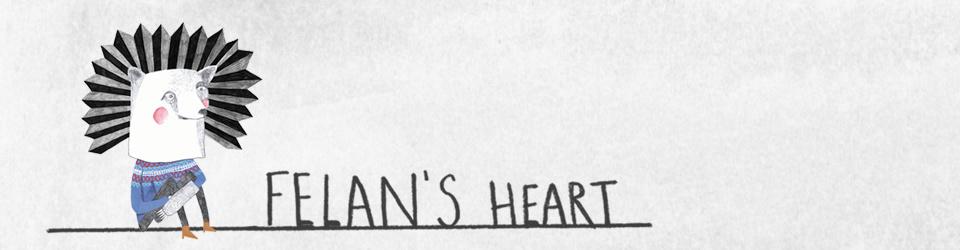 "Felan's Heart - Pressung des Debütalbums ""White Bear"""