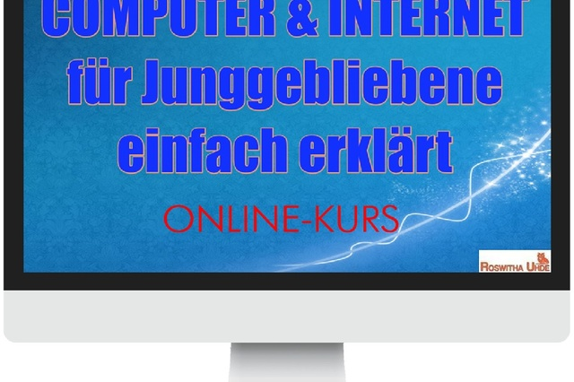 Computer & Internet für Junggebliebene Online-Kurs