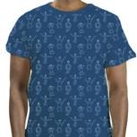 "Kipepeo Männer Shirt ""Dansi"" Sea Blue"