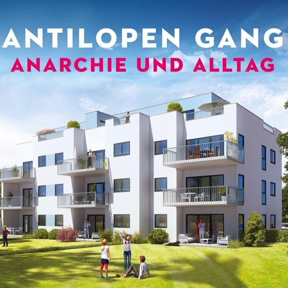 CD (signiert) Antilopengang: Anarchie und Alltag + Bonusalbum Atombombe auf Deutschland