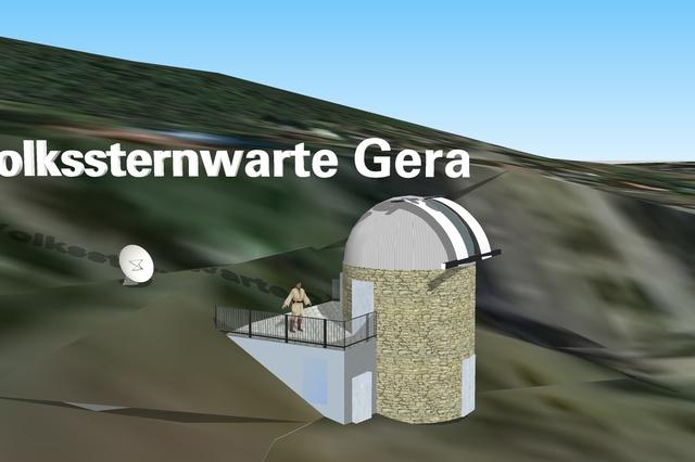 Energieautarke Volks-und Schulsternwarte Gera