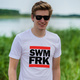 T-Shirt mit Swimfreak-Logo
