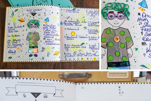 Book of Friends . Ein Freundebuch für Kinder