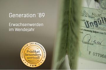 Generation ´89 - Unsere Geschichte als DVD