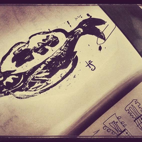 """Songbook zum Album """"Von Musen & Matrosen"""" mit Akkorden und Gedichten - limitiert, signiert, exklusiv, und nur hier und jetzt zu bekommen!  Uiuiui!"""