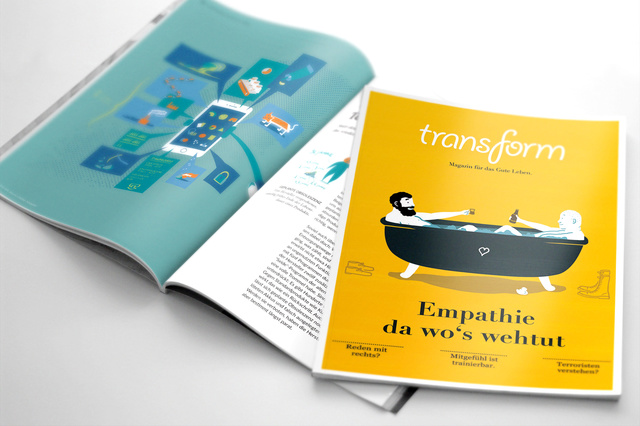 transform °2 - Empathie, da wo's wehtut.