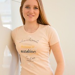 passion for planet no2 – women shirt peach elastisch