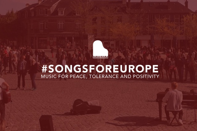 #SONGSFOREUROPE - Music for peace, tolerance and positivity