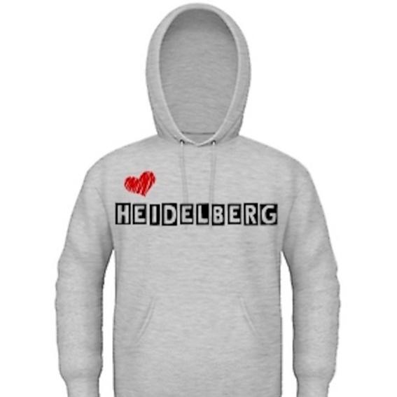"""Kapuzenpulli """"Love Heidelberg"""""""