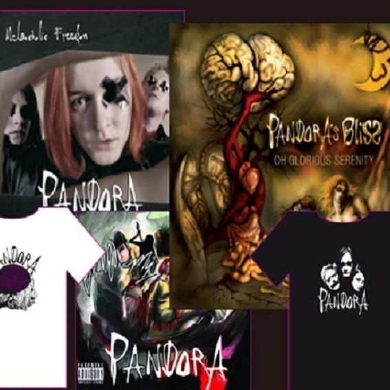 Album und Shirt
