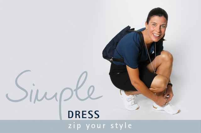 Simple Dress - zip your style!